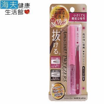 【海夫健康生活館】日本GB綠鐘 Amazing 專利設計達人級 平口附套毛拔(桃紅色 GT-227)