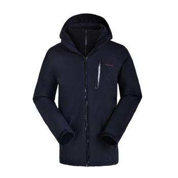 【聖伯納 St. Bonalt】男-四合一抓絨防風防水外套6024防寒外套 保暖 雪服 滑雪 戶外 連帽 衝鋒衣