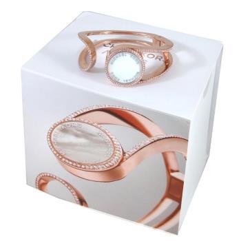 MICHAEL KORS ACTIVITY TRACKER玫瑰金色鑽飾運動智能手環