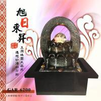 【KINYO】旭日東昇-流水飾品系列(GAR-6200)