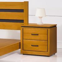 Bernice-柏克1.7尺實木床頭櫃