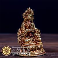 十相自在~金剛薩埵小佛像 金色法像 Dorje sempa