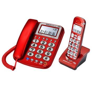 台灣三洋 SANLUX  DCT-8917  2.4GHz 長距離子母機
