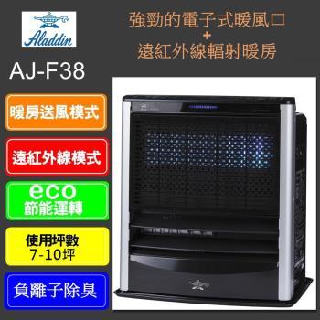 ALADDIN 阿拉丁智慧型溫控煤油電暖器AJ-F38