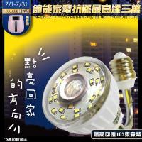【U want】 23LED感應燈泡(可彎螺旋E27型)(暖黃光)