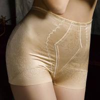 【華歌爾】日本彈性提花64-82短型塑褲 (粉嫩膚)