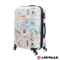 AIRWALK - 精彩歷程 環郵世界行李箱24吋-共2色