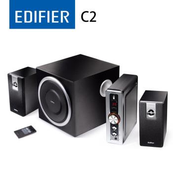 EDIFIER C2 三件式喇叭 - 黑