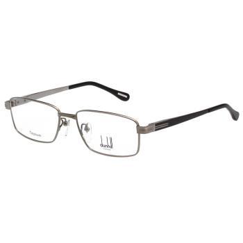 Dunhill 純鈦 光學眼鏡 (槍色+深藍腳)VDH065J