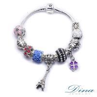 DINA JEWELRY蒂娜珠寶  幸運之星 潘朵拉風格 設計手鍊