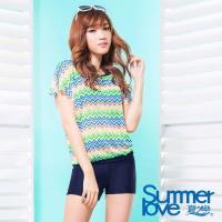 SUMMERLOVE- 夏之戀大女長版三件式泳衣S17716