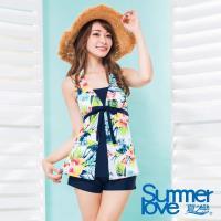 夏之戀SUMMERLOVE  大女顯瘦款長版三件式-加大碼S17718