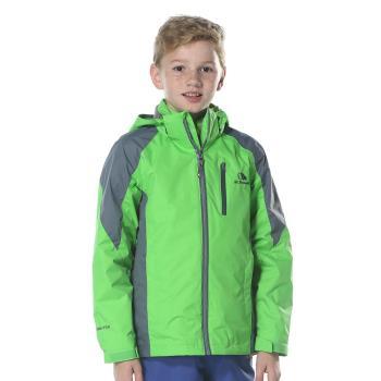 【聖伯納 St. Bonalt】男中童-可拆式連帽刷毛四合一防水防風外套6159 防寒外套 保暖 雪服 滑雪 戶外 衝鋒衣