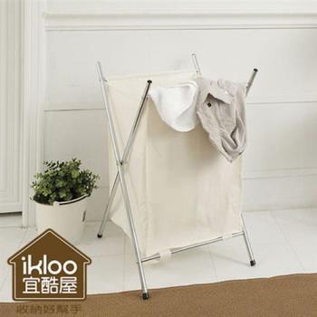 [HR安室家]附蓋髒衣收納籃/洗衣籃 (單格)