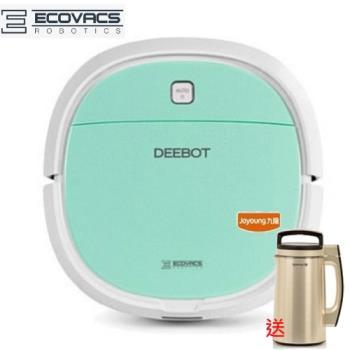 組合優惠 Ecovacs DEEBOT MINI2 智慧掃地機器人 DA3G + 九陽豆漿機 DJ13M-D980SG 香檳金色