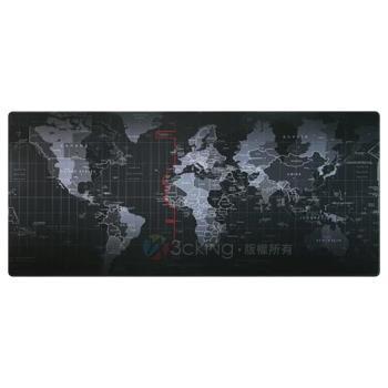 捷樂米 世界地圖加大寬版滑鼠墊/桌墊 (300x800x3mm)