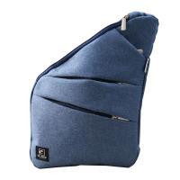 US DUCK超薄貼身防盜包-藍色5-UN-170516-2