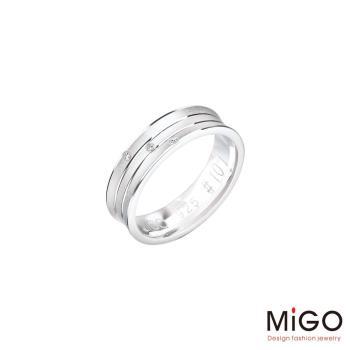 MiGO 愛的圍繞純銀女戒指