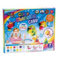 【 小康軒 Kids Crafts 】Think-doh 矽膠黏土 - 7 色感溫變色黏土組