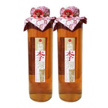 《春雨軒》桃肥李瘦李子醋(600cc*2瓶)