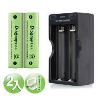 電池王18650鋰電池 2600mAh 2顆入  充 組 送防潮盒~1