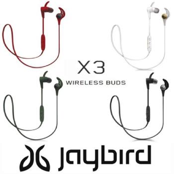 Jaybird X3 Sport 無線運動藍芽耳機 - 4色 加贈原廠運動腰帶