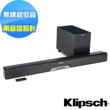 美國Klipsch 2.1聲道單件式環繞SoundBar RSB-6