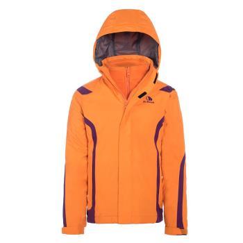 【聖伯納St. Bonalt】男中童- 4 in 1兩件式防風防水外套6080防寒外套 保暖 雪服 滑雪 戶外 露營 衝鋒衣