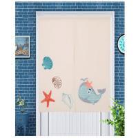 【巴芙洛】日式刺繡門簾-海底世界85X150cm