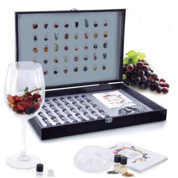 西班牙Pulltex普德斯  酒鼻子葡萄酒專業聞香訓練組 Complete Essences Set Lux