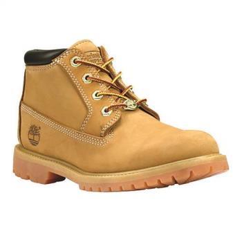 Timberland女款小麥黃經典中筒女靴23399713