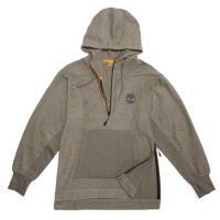 Timberland男款深灰色Winnicut River 寬版連帽上衣A1MBL037