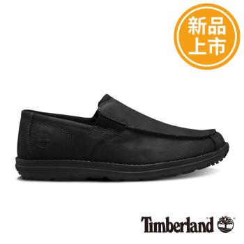 Timberland男款黑色EDGEMONT方頭便鞋A17YRD46