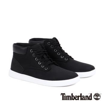 Timberland男款黑色素面休閒鞋9464B001