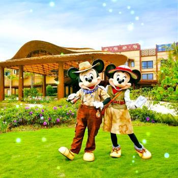 香港迪士尼港珠輕鬆半自由行4日(無購物無自費)旅遊