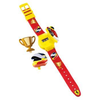 Scuderia Ferrari 法拉利 賽車安全帽電子兒童錶-32mm 0810004