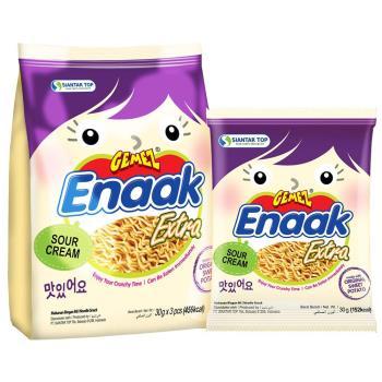 【Gemez Enaak Extra】韓式小雞麵酸奶地瓜味(90gX12入)