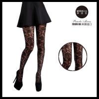 【摩達客】英國進口義大利製Pamela Mann  黑色巴洛克性感花樣彈性褲襪網襪