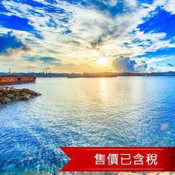 日本沖繩那霸海灘飯店樂桃航空自由行4日(含稅)旅遊