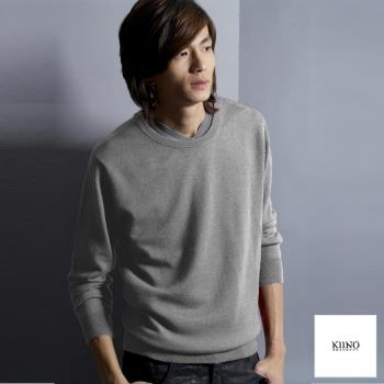 [KIINO]羊毛衣100%美麗諾圓領上衣 0602-1574