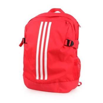 ADIDAS 運動後背包-雙肩包 旅行包 愛迪達 桃紅白