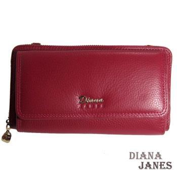 長夾【Diana Janes 黛安娜】真皮雙面手挽包