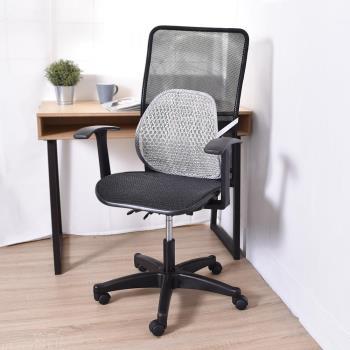 凱堡 Aniki全網高背T字型扶手辦公椅/電腦椅(送網腰腰靠)