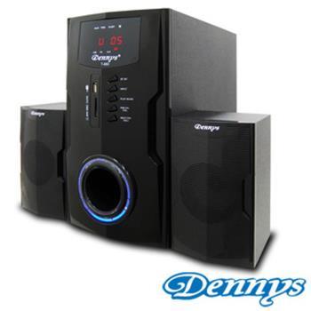 【Dennys】 USB/SD/FM超重低音2.1喇叭(T-880)
