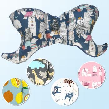 兒童枕頭 嬰兒枕防扁頭泡泡絨定型枕