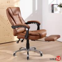 LOGIS邏爵~開創家坐臥兩用主管椅/辦公椅/電腦椅 棕色(需組裝) DIY-CO800棕