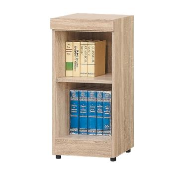 Bernice-達爾思1.3尺開放式二格書櫃/收納櫃/展示櫃