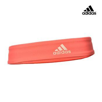 Adidas Yoga 專業運動髮帶 (橘紅)