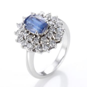 Dolly 耀眼藍晶石戒指