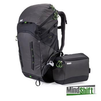 MindShift 曼德士 Gear rotation 180° Horizon 戶外登山攝影 相機背包 34L(全配,MS215A)灰黑色